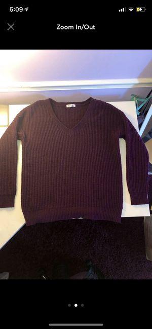Great condition! BB Dakota purple sweater for Sale in Brier, WA