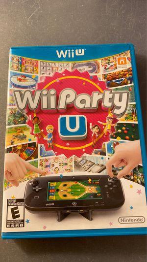Wii party u nintendo wii u for Sale in Santa Ana, CA
