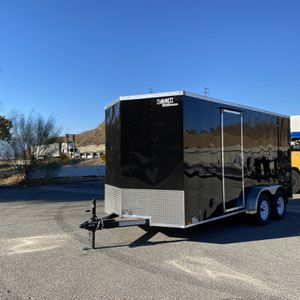 New 7x16 Look Enclosed Cargo Trailer * 12 inches extra height * for Sale in Redlands, CA