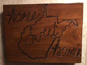 Wooden Frame of West Virginia for Sale in Clarksburg, WV