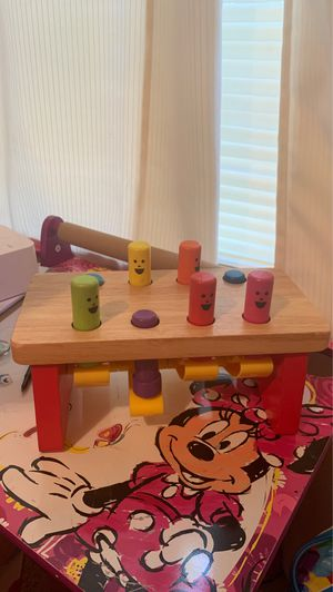 Wooden kids activity toy for Sale in Saginaw, TX