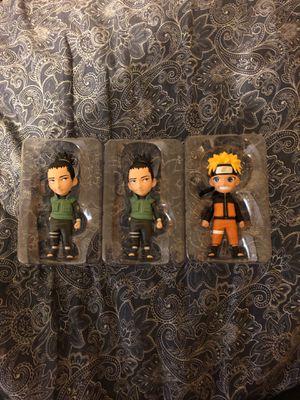 Naruto and shikamaru mininja's. for Sale in MO, US