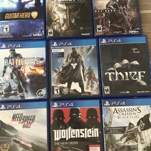 PS4 Games for Sale in Waddell, AZ