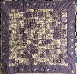 """A Little Purple"" Quilt for Sale in Gainesville, GA"