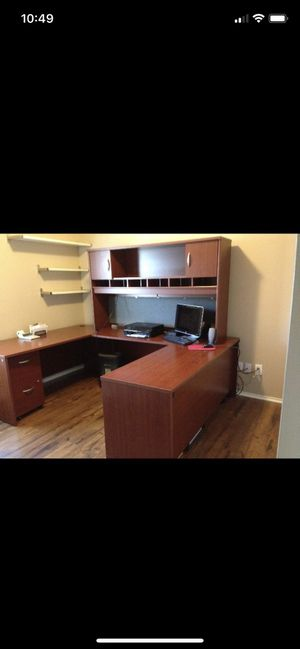 Solid wood office furniture for Sale in McKinney, TX