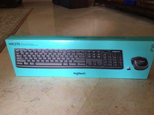 Logitech Wireless Mouse and Keyboard for Sale in Longwood, FL