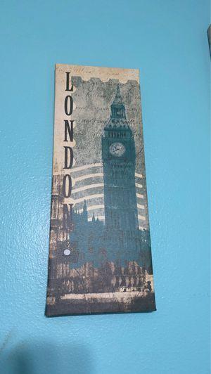 London Canvas Decoration for Sale in Miami, FL
