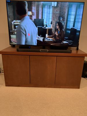 Large TV unit / STEREO MEDIA entertainment storage cabinet - tv cabinet for Sale in Tucker, GA