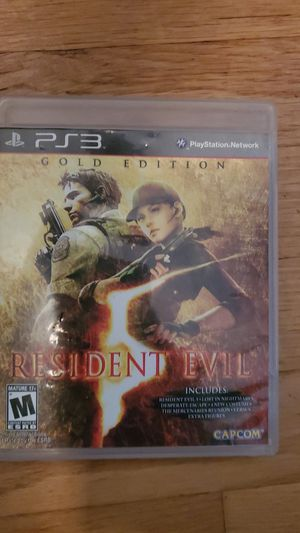 Resident evil 5 ps3 for Sale in Queens, NY