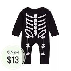 Skeleton Baby Jumpsuit ☠ for Sale in La Mirada,  CA