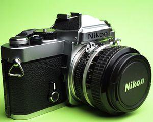 Nikon FE + Nikkor lens for Sale in New York, NY