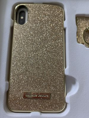 Gold glittery iPhone XS/X case for Sale in Fresno, CA
