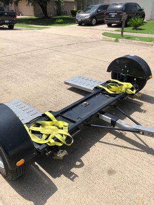 2018 Roadmaster rm3477 car dolly with electric brakes for Sale in Saginaw, TX