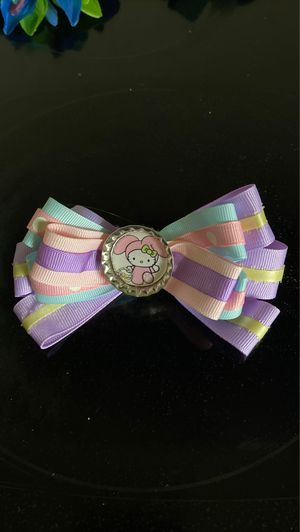 Hello Kitty Holiday Girls Hair bows for Sale in Aliquippa, PA
