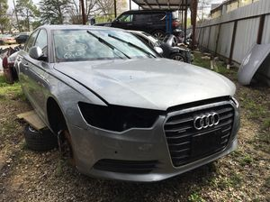 2013 Audi A6, V6, parts car!! for Sale in Houston, TX