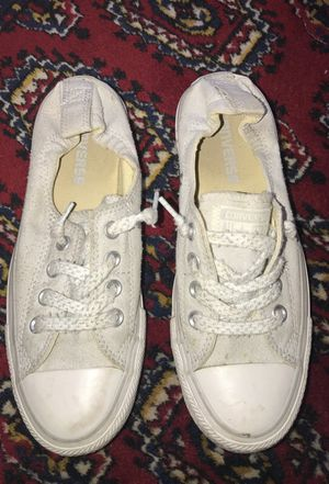 Light grey ankle stretch converse 6.5 for Sale in Los Angeles, CA