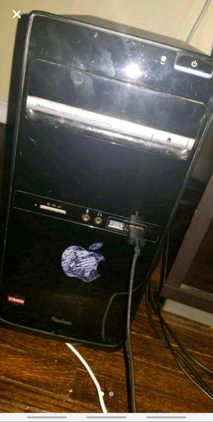Hp desktop with monitor for Sale in Toledo, OH