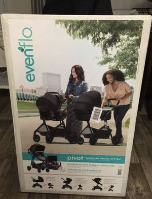 Evenflo pivot modular travel system for Sale in Phoenix, AZ