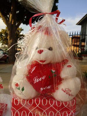 Valentines Teddy Bear for Sale in Whittier, CA