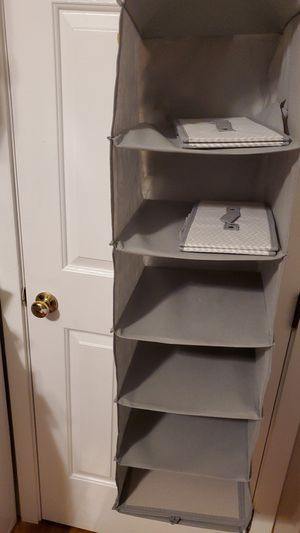 Closet organizer w 2 drawers for Sale in Marblehead, MA