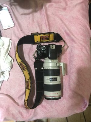 Canon camera with two lens for Sale in Richmond, VA