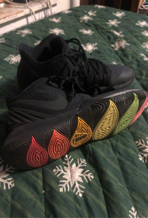 Kyrie basketball neon sole shoes for Sale in Boston, MA