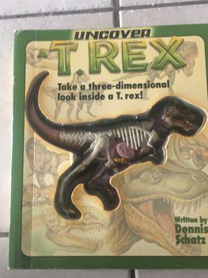 3-D T-Rex anatomy book for Sale in Glendale, AZ