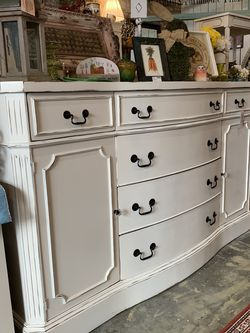 Refinished White Farmhouse Dresser / Buffet for Sale in Bonney Lake,  WA