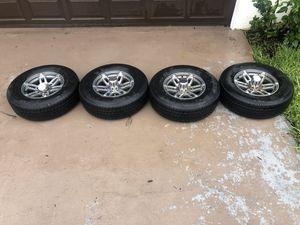 6 Lug Heavy Duty Aluminum Sport Marine Trailer Wheels and Tires for Sale in Plantation, FL