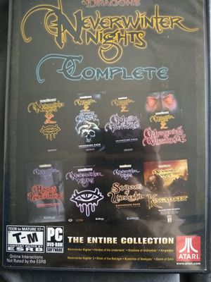 Neverwinter Nights Complete for Sale in Traverse City, MI