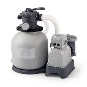 Intex 2,800 GPH Sand Filter Pump for Sale in Houston, TX