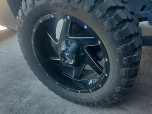 """20"""" Ft off-road wheels with tires for Sale in San Diego, CA"""