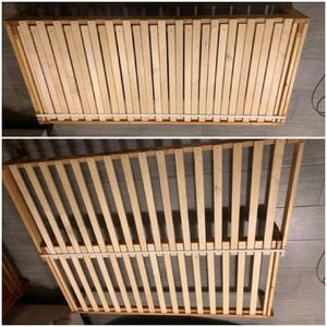 Expandable Wood Bed Frame for Sale in Mesa, AZ