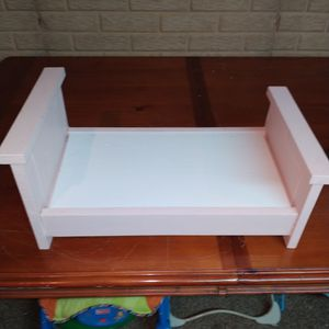 Solid Wood Doll/ Pet Bed for Sale in Washington, IL