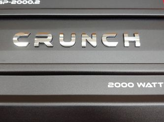 Car Amplifier : Brand New CRUNCH 2000 Watts 2 Channel car amplifier Built in Crossover 30a fuse( Brand New In Box Never Opened ) for Sale in Bell Gardens,  CA
