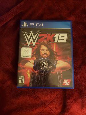 WWE 2k19 PS4 for Sale in Santa Ana, CA