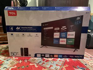 "50"" 4K Smart TV for Sale in Mahwah, NJ"