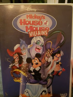 Mickeys House of Mouse Villains DVD for Sale in Portland, OR