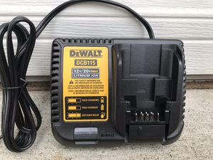 DEWALT 20-Volt MAX Lithium-Ion Battery Pack 2.0Ah with Charger for Sale in Marysville, WA