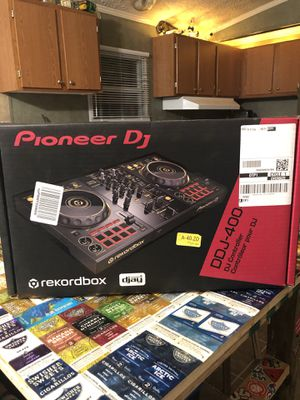 Pioneer DDJ-400 DJ Controller Gold Edition for Sale in Gibsonton, FL