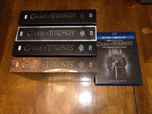 Game of Thrones Seasons 1-5 Blu-ray for Sale in Cleveland, OH