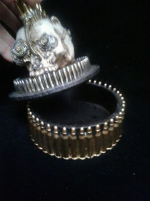 Steam punk skeleton jewelry box for Sale in Denver, CO