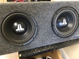 Pro Wedge twin subs by JL audio audio 10 w3 for Sale in Mesa, AZ