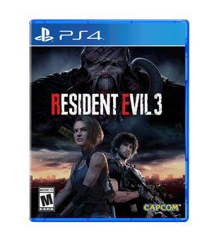 Resident evil 3 remake for Sale in Abingdon, MD