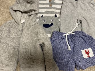 Bundle Of Baby Clothes, Jacket, & Swimsuit - 12 Months for Sale in Winchester,  CA