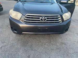 2009 Toyota highlander for Sale in Fort Worth, TX