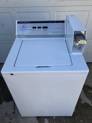 Whirlpool heavy duty commercial washer 30 day warranty for Sale in Madera, CA