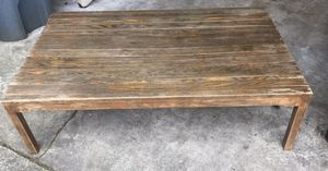 Old Farm Wood Antique Coffee Table for Sale in Edgewood, WA