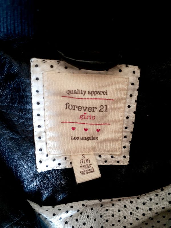 Like New Girls Forever 21 Jacket sz S (7-8)