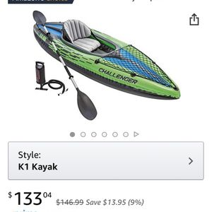 Inflatable kayak (barely Used) for Sale in Virginia Beach, VA